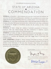 Proclamation - Arizona