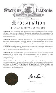 Proclamation - Illinois
